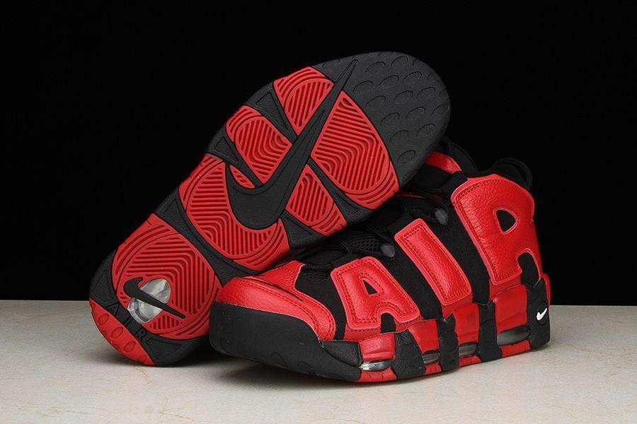 Nike Air More Uptempo QS RedBlack 819151 001 | Black nike