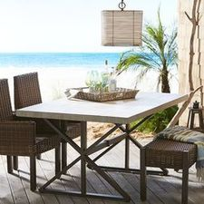 Outdoor Seating Patio Chairs Lounges More Pier Imports - Pier 1 outdoor dining table