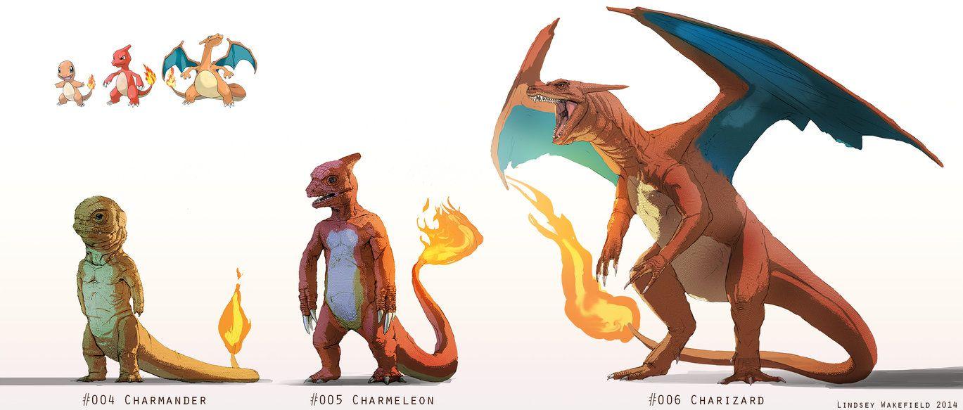 mira como serían los pokemon y digimon más realistas pokemon
