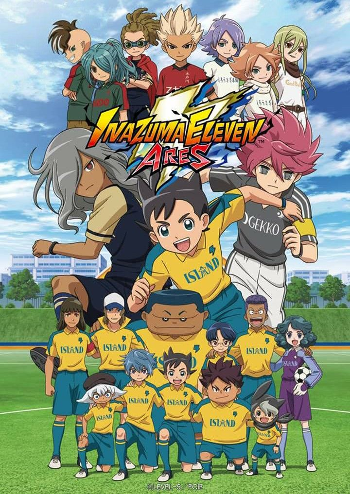 Inazuma Eleven Ares visual poster. in 2020 Anime dvd