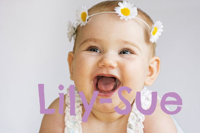the best double barrelled baby names oh baby! baby names, baby6 lily sue