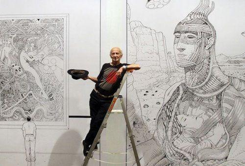 Moebius Y Su Arte Vecindad Grafica Diseno Grafico Aprende A Dibujar Comic Arte Ilustraciones