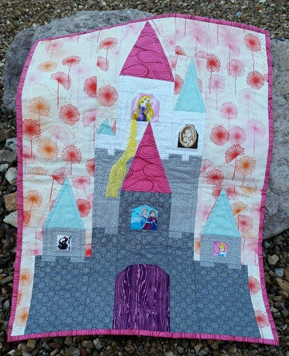 Disney Mini Quilt Sleeping Beauty S Castle Quilt Stuff
