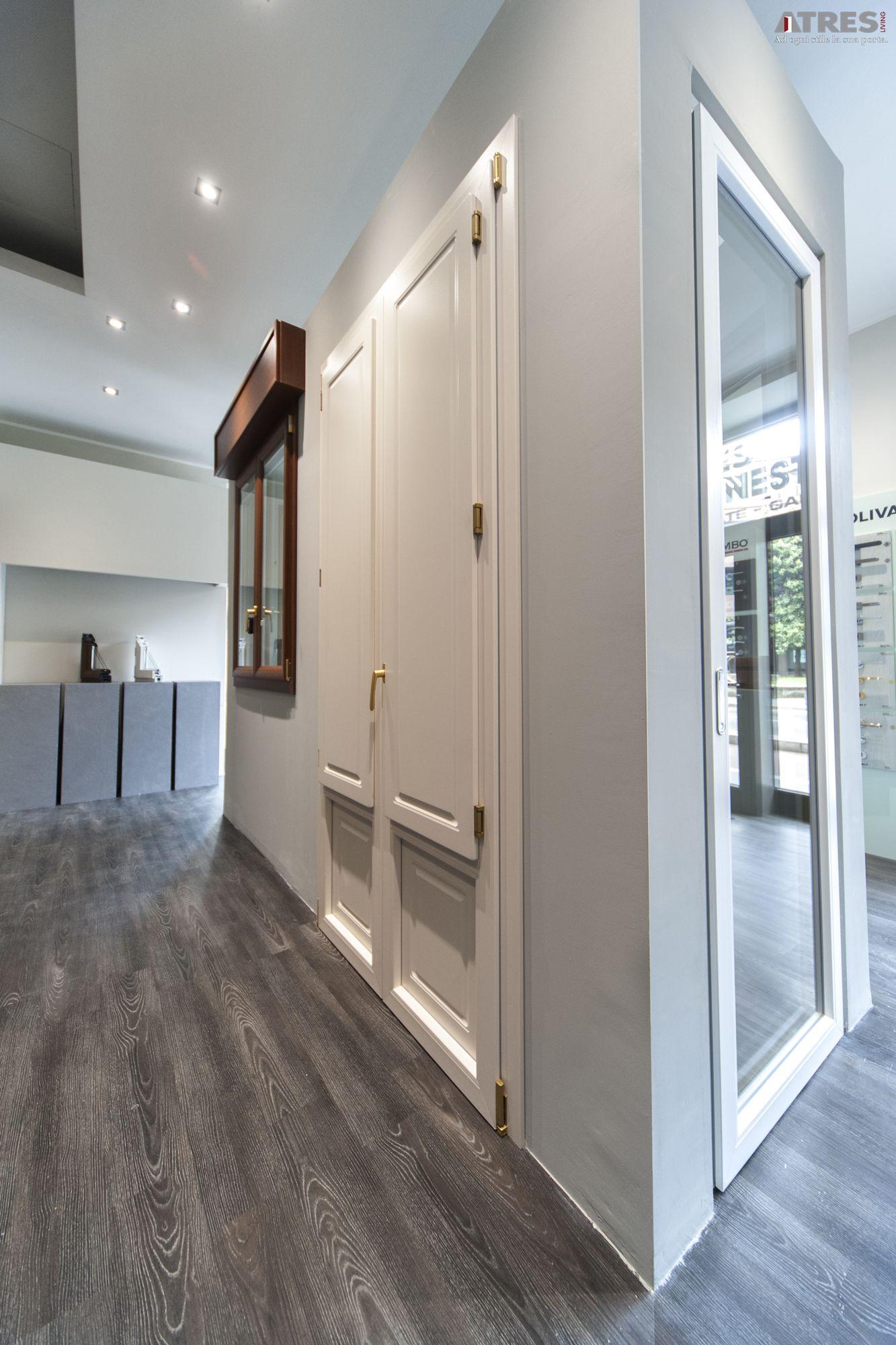 Alcune delle porte e finestre esposte nel nostro nuovo showroom di serramenti e infissi di - Porte finestre milano ...