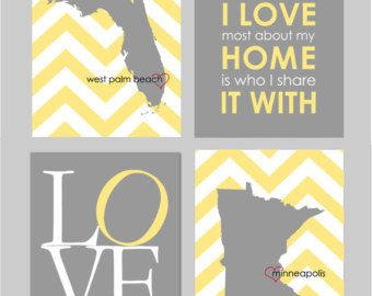 Yellow And Gray Bedroom Decor Yellow And Grey Bedroom Art What I Love About  My Home