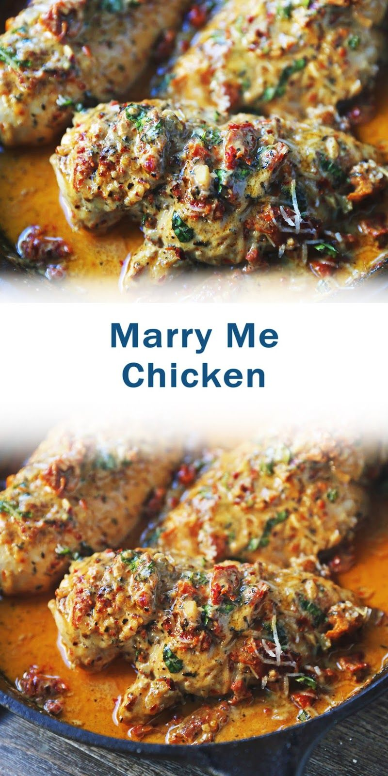 The Internet Is Going Crazy Over Marry Me Chicken Recipe