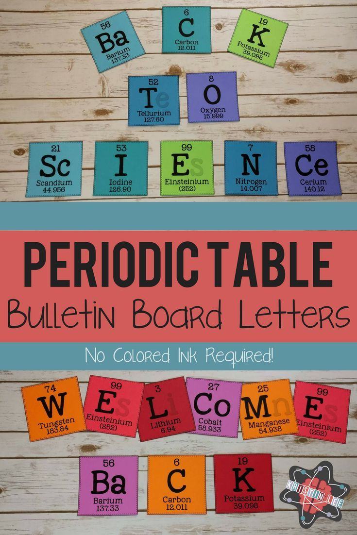 Elements a z bulletin board letters education pinterest elements a z bulletin board letters education pinterest science bulletin board classroom decor and bulletin board urtaz Image collections
