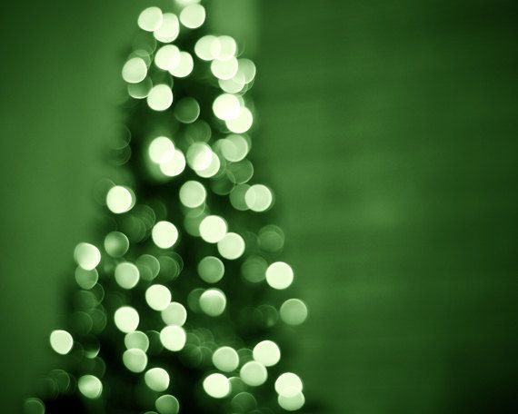 Green Christmas Lights.Christmas Photography Holiday Decor Green Christmas Lights