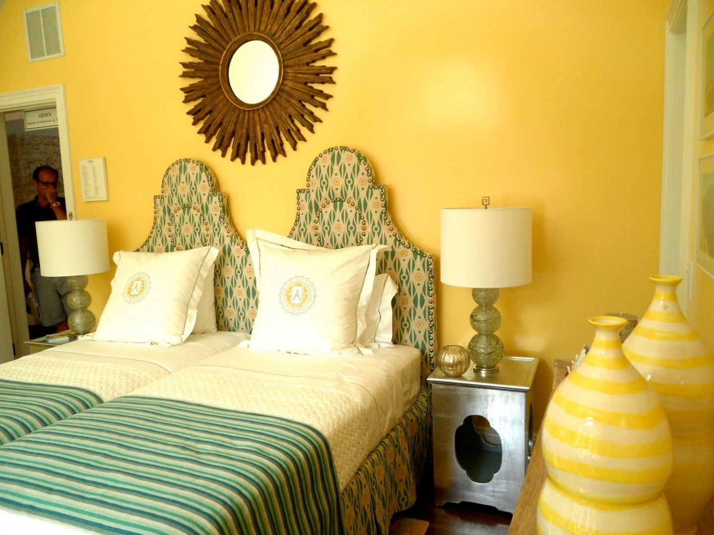 My Favorite Bedroom Decoration Arden Stephenson Sunny Glazed Yellow Walls listed in: