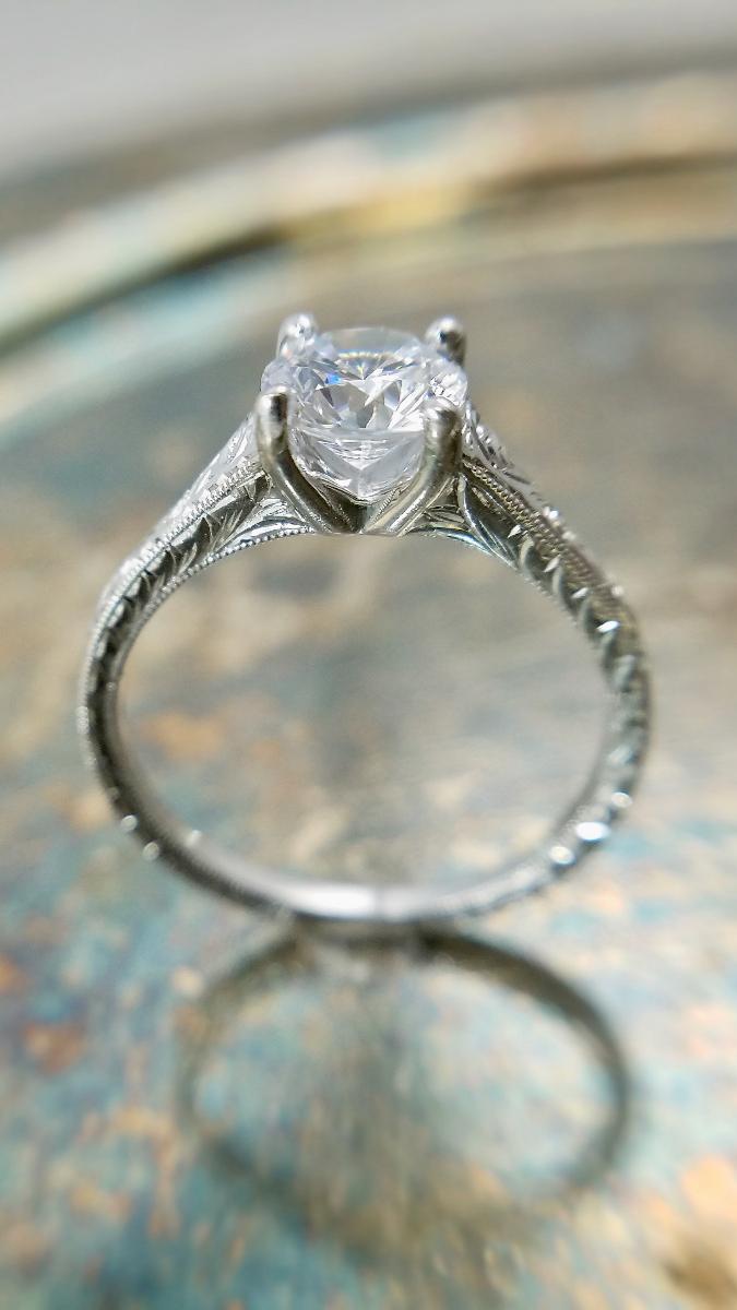 White Gold Engagment Rings