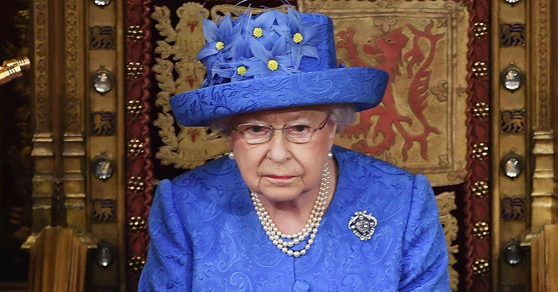 People Are Convinced The Queen's Hat Sends A Secret Message #queenshats