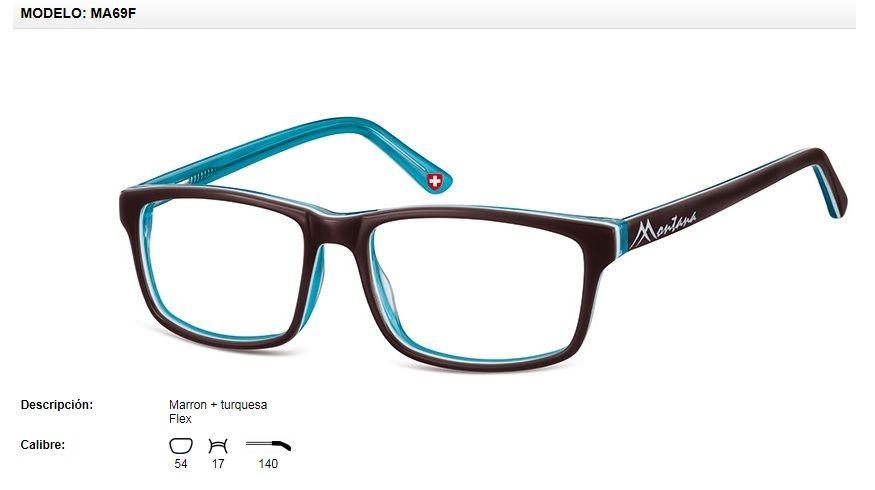 580053ac8d8a4 Monturas Montana Marcos Acetato Lentes Formula Optica Gafas -   99.900 en  MercadoLibre