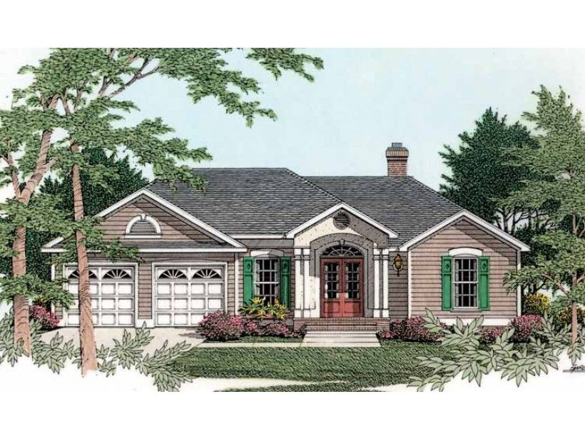 Eplans cottage house plan elegant traditional - Traditional neighborhood design house plans ...