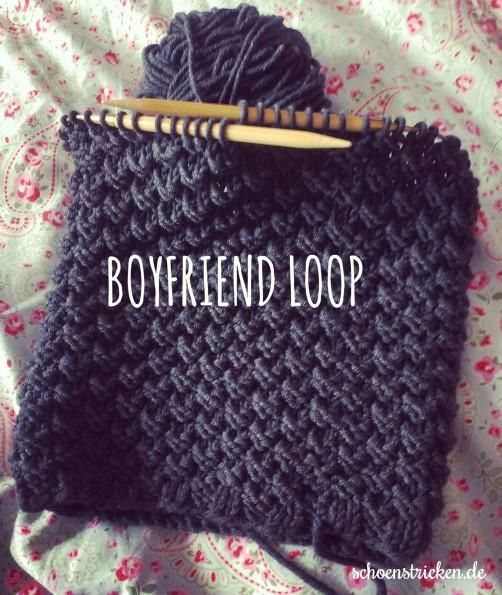 Männerloop Strickanleitung Für Einen Boyfriend Loop Grau Freunde