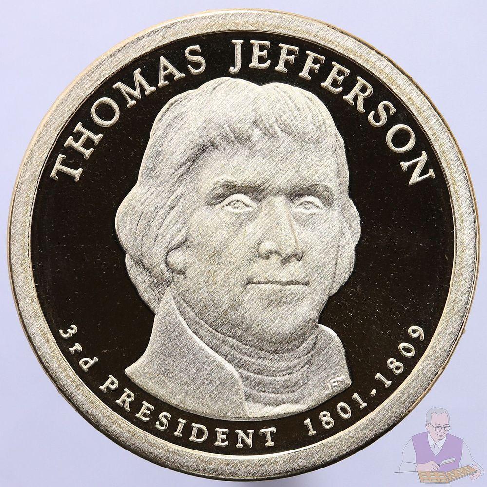 2013-S Woodrow Wilson Presidential Dollar Gem Proof Deep Cameo
