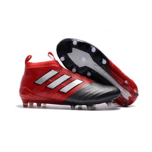 69a43852aa9b9a Adidas ACE 17+ PureControl FG Fotballsko rød Hvit Svart
