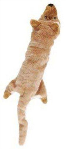 Ethical Skinneeez Big Bite Coyote Stuffingless Dog Toy Click
