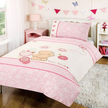 Forever Friends Cot Bed Duvet Cover Set Pink Cotton Http Www Childrens Rooms Co Uk Forever Friends C Toddler Bed Girl Cot Bed Duvet Cover Bedroom Themes