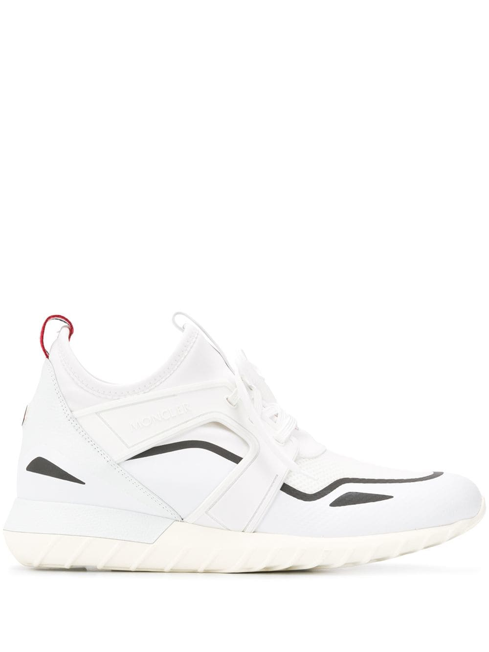 Moncler, Hi top, Leather sneakers