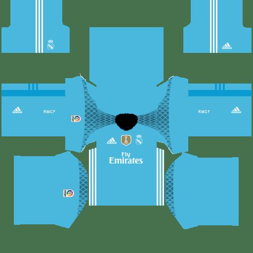 2018-2019 Real Madrid Kits and logo 512 × 512 (Updating) Dre