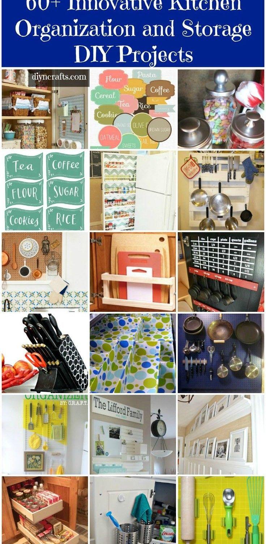 60+ Innovative Kitchen Organization and Storage DIY Projects –...