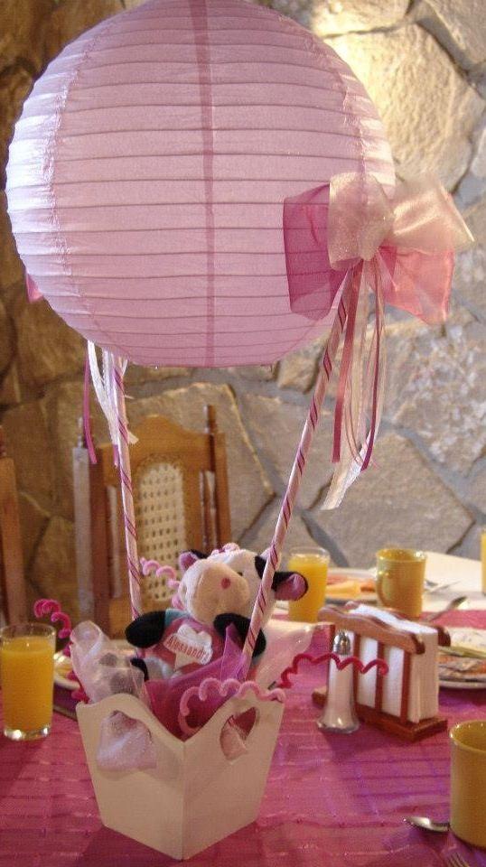 Centro d mesa Baby Shower Pinterest Centro, Mesas y Centros de