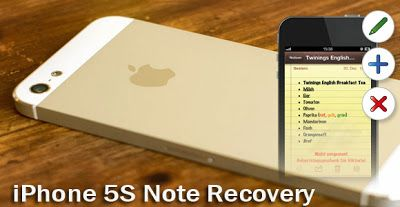 How To Get Back Deleted Notes On Iphone 5s