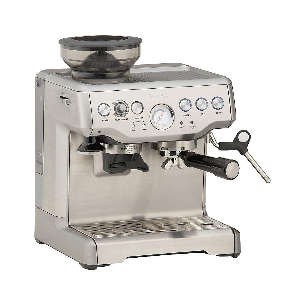 Breville Barista Express Espresso Machine Reviews Crate And Barrel 2020 Kahve