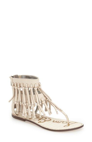 d12f27795 SAM EDELMAN  Griffen  Fringe Sandal (Women).  samedelman  shoes  sandals