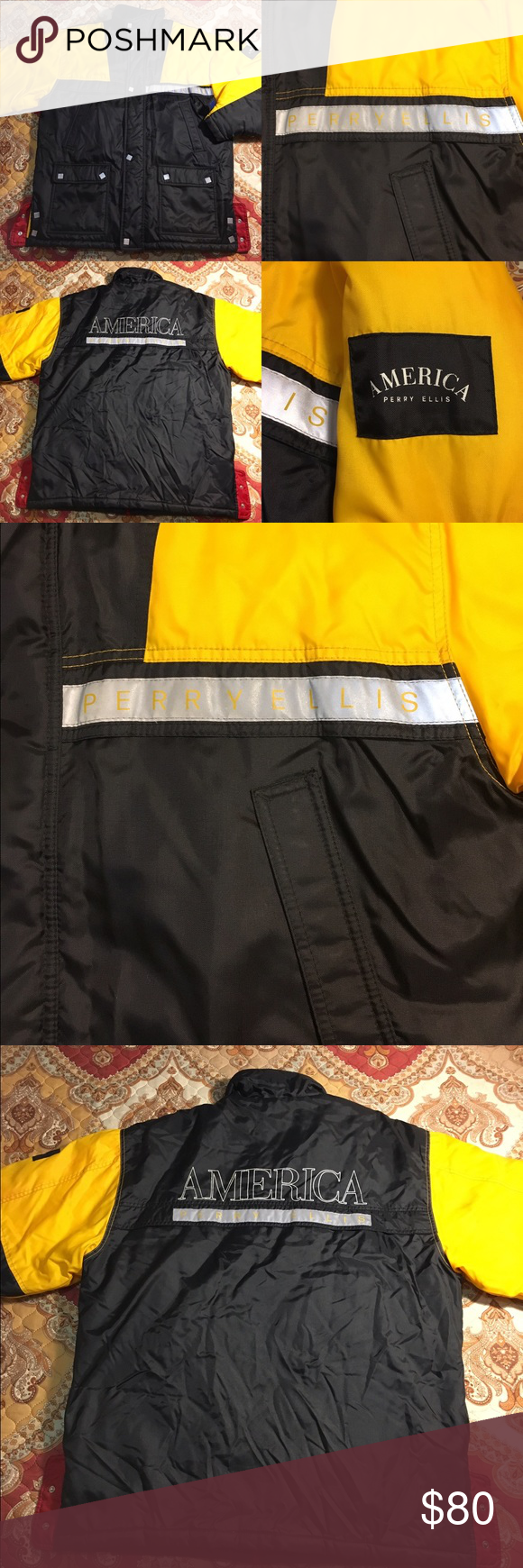 Vintage Perry Ellis America Parka x Puffer Jacket Size Large -excellent  vintage piece - excellent condition Perry Ellis Jackets   Coats Puffers e40b2e6e6