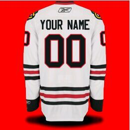 Custom Vinyl Toddler Letter And Number Kits For Road Jersey Chicago Blackhawks Shirts Chicago Blackhawks Jersey