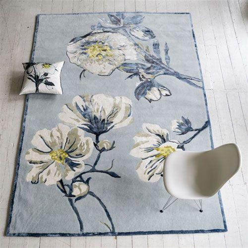Designers Guild Pomander Delft Rug Ships Free #beautifulrugs #prettyrug #designersguild