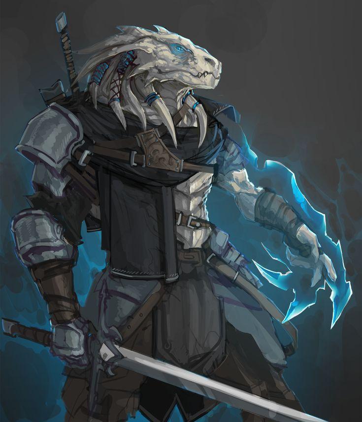 Image result for White Dragonborn