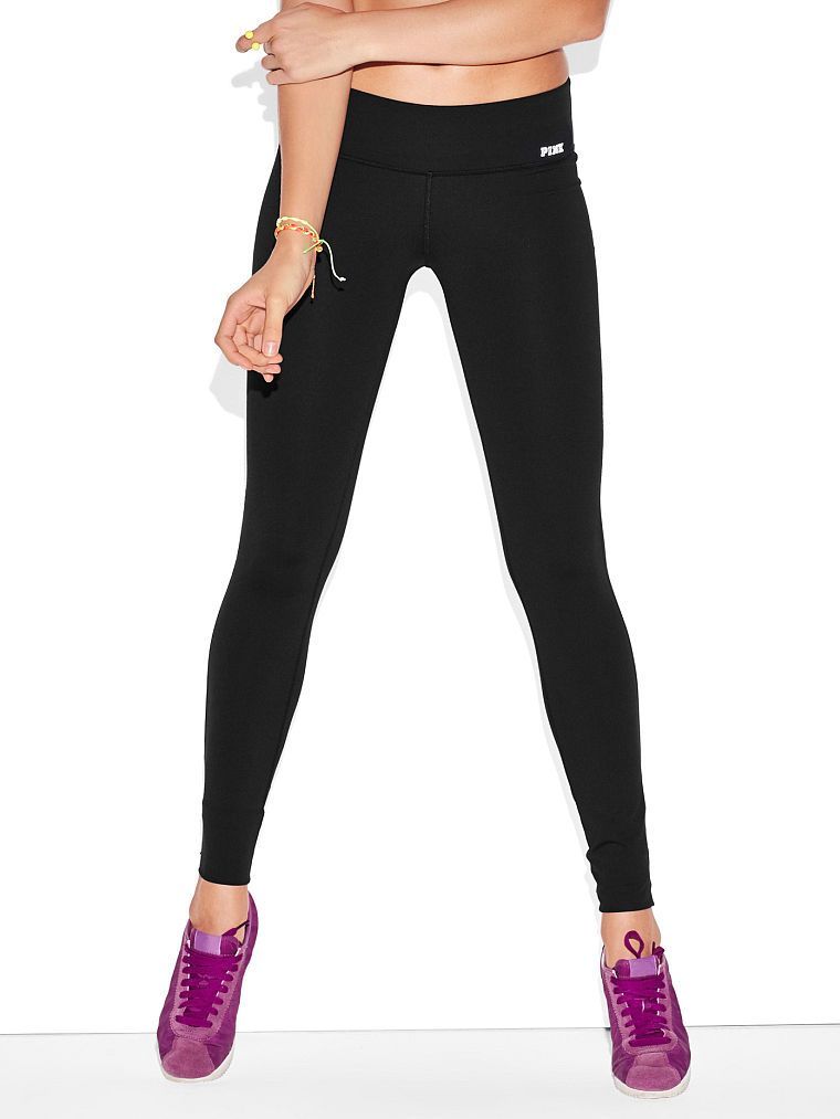 Ultimate Yoga Leggings - PINK - Victoria's Secret | Color : Black ...