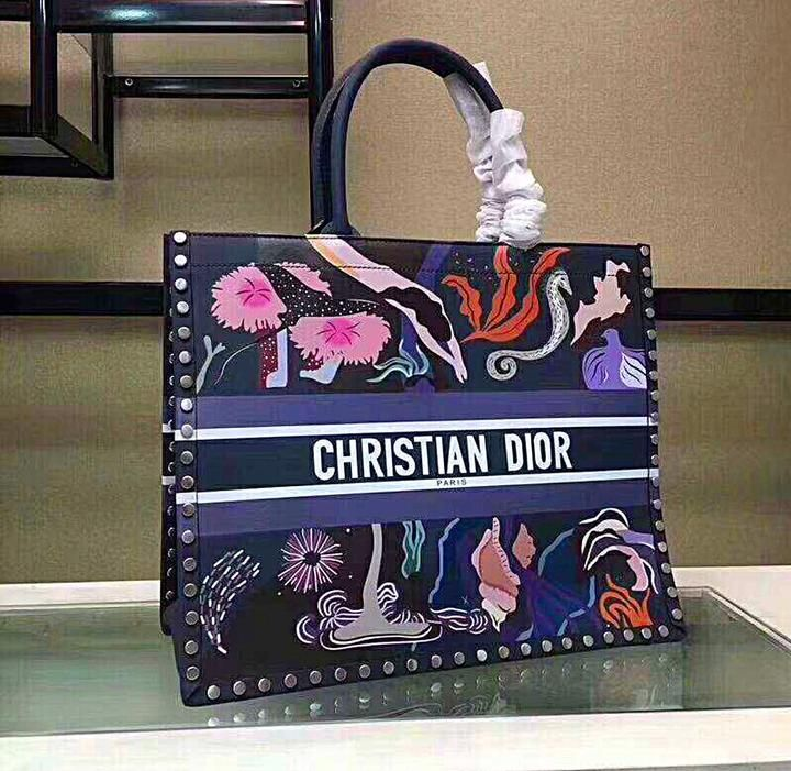 Principiante Personalmente Jugar juegos de computadora  Christian Dior Inspired Multicolored Hand Painted Book Tote – Celebrity  Inspiracion | Dior, Painted books, Tote