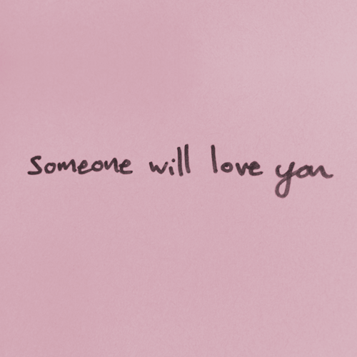 Sad Tumblr Quotes About Love: Pink Aesthetic Love Writing Words