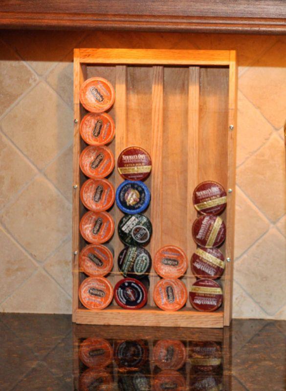 Keurig K Cup Dispenser And Storage Holds 28 K Cups Modern Kitchen Accessories Coffee Pod