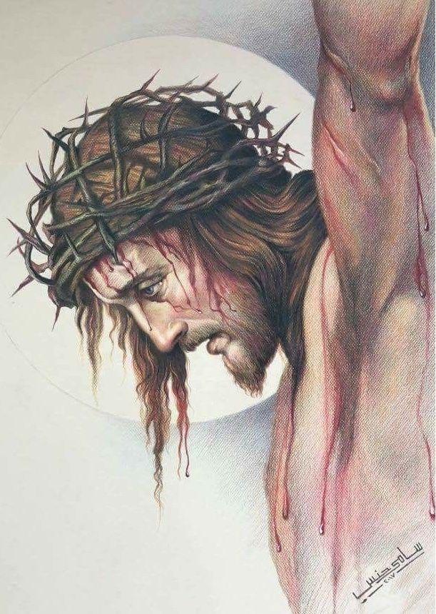 Obediente Hasta La Muerte Y Muerte De Cruz Gracias Jesús Dibujos De Jesús Arte De Jesús Tatuaje De Cristo