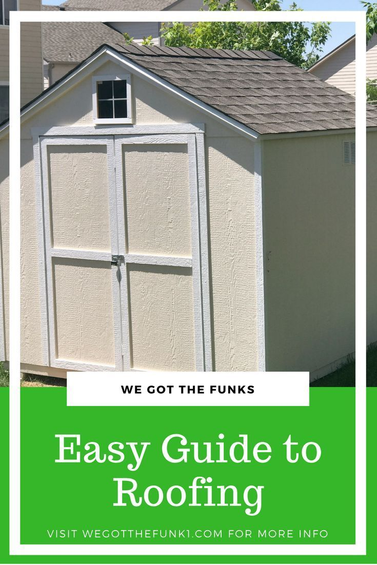 Easy Guide To Roofing Roofeditmyself Ad Roofing Felt Drip Edge Roofing Supplies