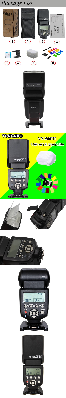 Yongnuo Yn560 Iii Yn 560 Yn560iii Universal Wireless Flash 560iii Speedlight Speedlite For Canon Nikon Pentax