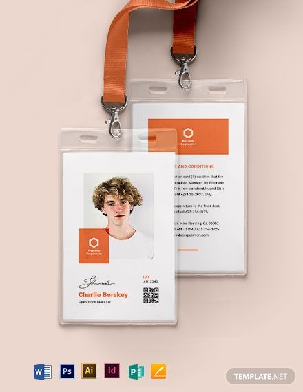 Instantly Download Manager ID Card Template, Sample & Example in Microsoft Word (DOC), Adobe Photoshop (PSD), Adobe InDesign (INDD & IDML), Apple Pages, Microsoft Publisher, Adobe Illustrator (AI) Format. Available in 2.13x3.39 inches + Bleed. Quickly Customize. Easily Editable & Printable.
