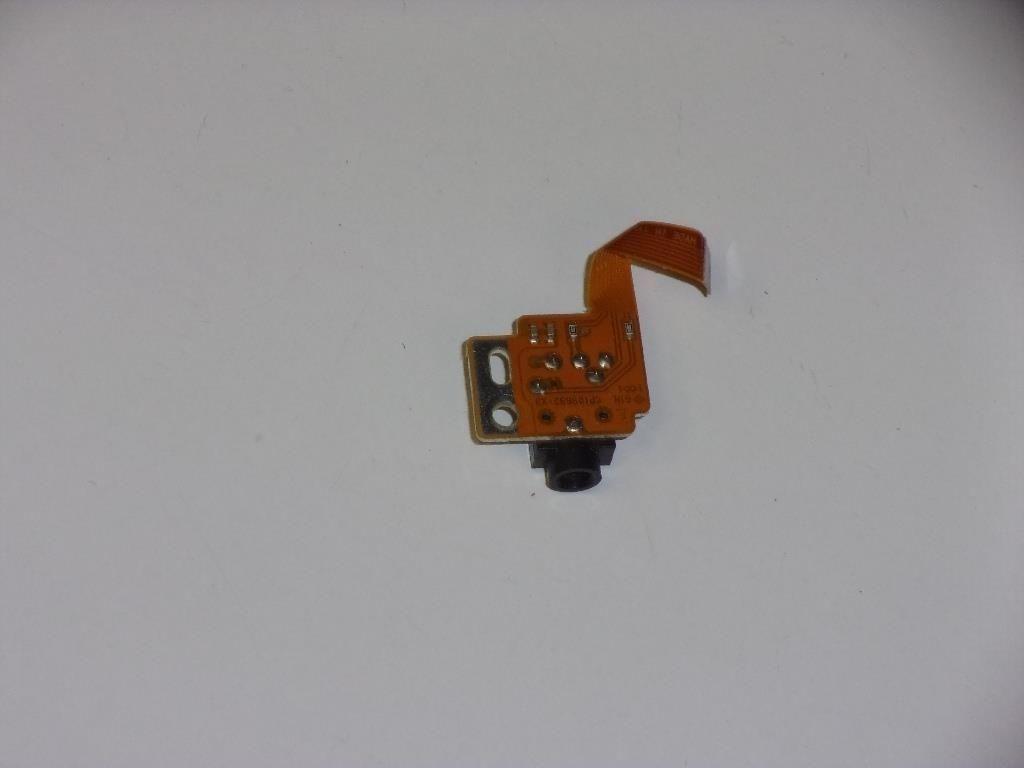 Fujitsu Lifebook P2046 Audio Jack Board w/cable CP109692-X3