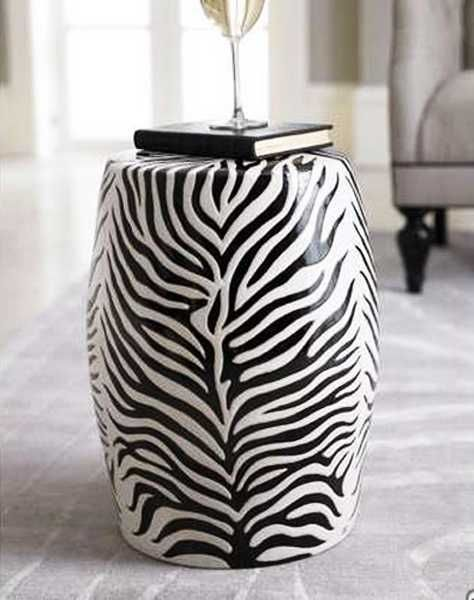 Attractive Exotic Home Decorating Ideas Allowing Zebra Prints To Reveal Your Wild Side