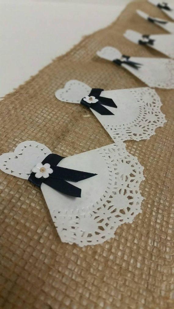 Paper Doily Wedding Dress Set Of 12 Wedding Dress Favor Pacchi