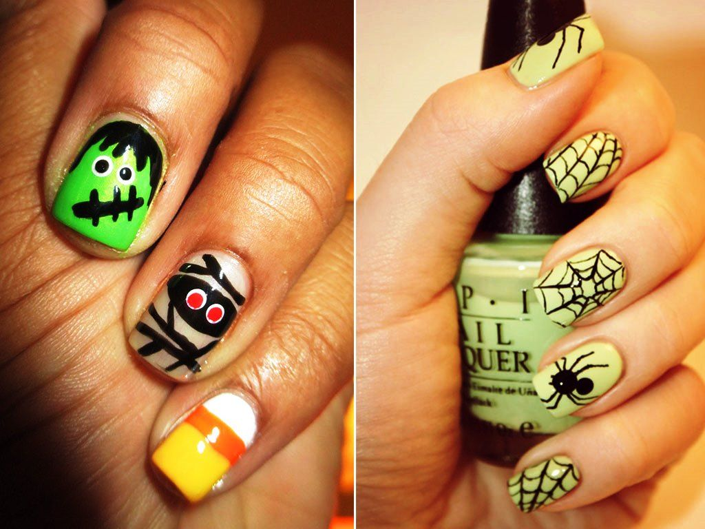 Halloween Nail Art Inspiration Collection