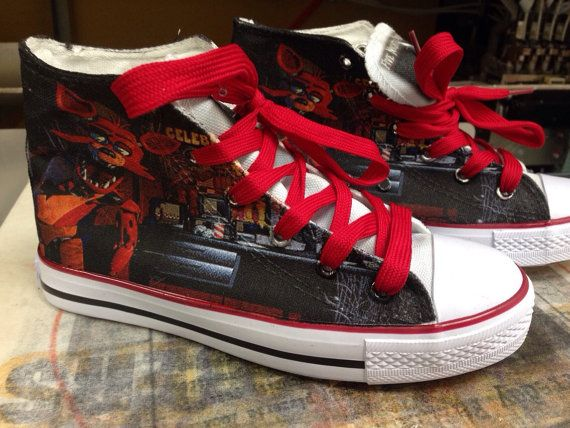 Custom Foxy Shoes Five Nights at Freddy's Fan Mens Women and Kids