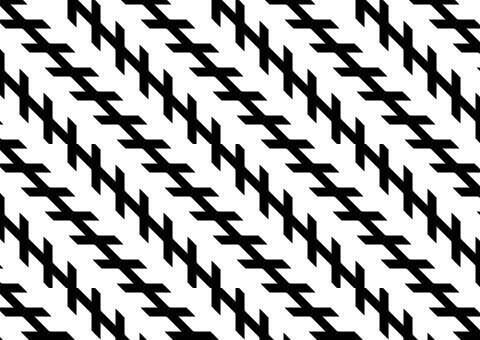 졸러환상 이 그림에서 검은 선은 비평 행하는 것처럼 보이지만 실제로는 평행합니다.더 짧은 선은 더 긴 선에 각을 이루고 있습니다.이 각도는 긴 선의 한쪽 끝이 다른 쪽보다 우리에게 더 가깝다는 인상을주는 데 도움이됩니다.이는 룬트 환상이 나타나는 방식과 매우 유사합니다.Zöllner 환상은이 깊이의 인상으로 인한 것일 수 있습니다.