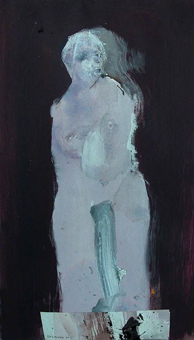 http://www.fobrunet.fr/galerie.html, Francis Olivier Brunet, abstract figure painting, France