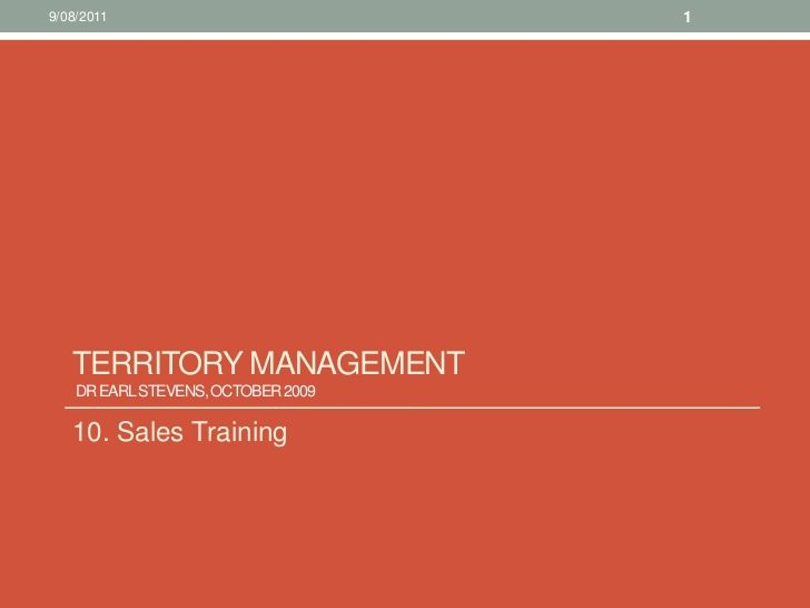 10 sales training territory management Territory Planning - sample resume sales territory account management