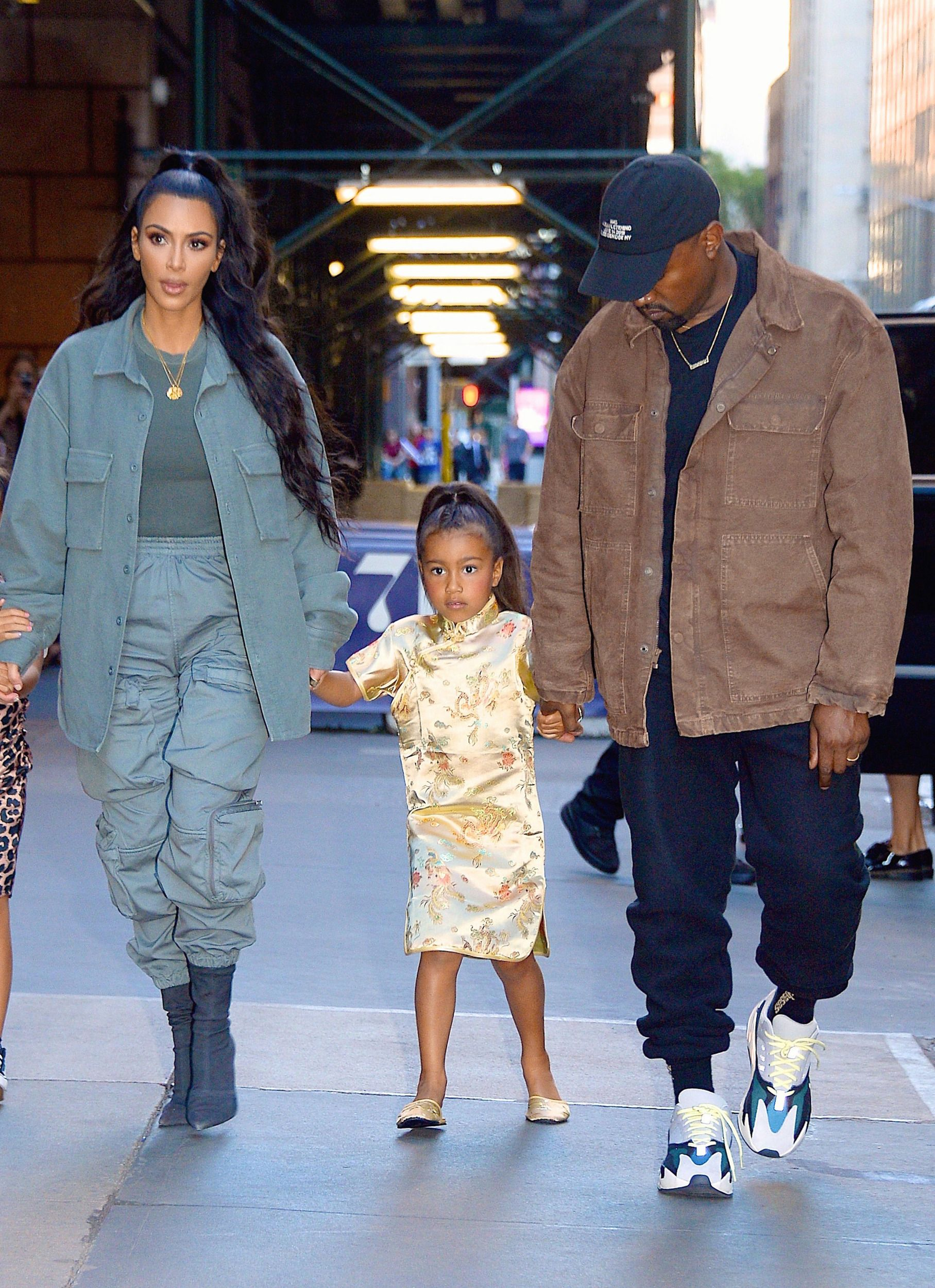 New York Ny June 15 Kanye West Kim Kardashian And Daughter North West Seen Out And About In Manhattan On June 15 2018 In New York City Photo Halloween